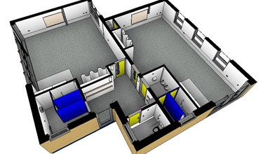 Mount Pleasant primary extension design layout