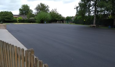 Woodfield Infant school new playground